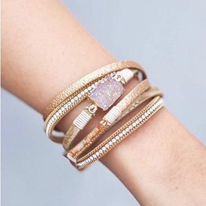 Multi-Layer Leather Bracelet